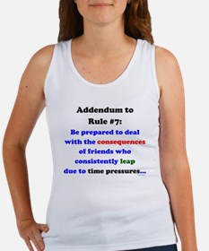 Rule 7 Addendum Women's Tank Top