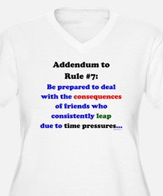 Rule 7 Addendum T-Shirt
