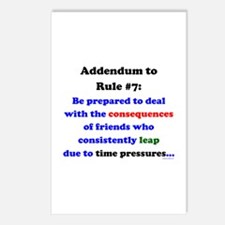 Rule 7 Addendum Postcards (Package of 8)