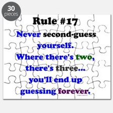 Rule 17 - No Second Guessing Puzzle