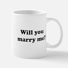 Will You Marry Me? Mug