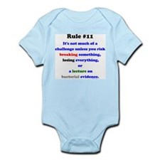 Break, Lose, Evidence Lecture Infant Bodysuit