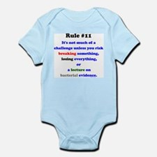 Break, Lose, Evidence Lecture Infant Bodysuit