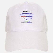 Break, Lose, Evidence Lecture Baseball Baseball Cap