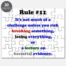 Break, Lose, Evidence Lecture Puzzle
