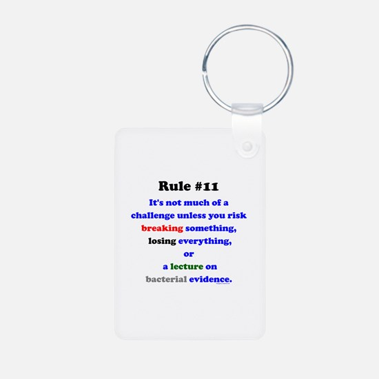 Break, Lose, Evidence Lecture Keychains