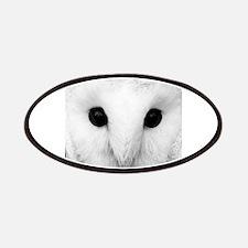 White Snow Owl Patches