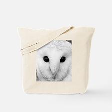 White Snow Owl Tote Bag