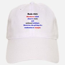 Rule 67 - National Holidays, Confession Exempt Baseball Baseball Cap
