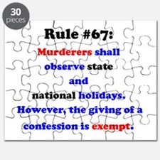 Rule 67 - National Holidays, Confession Exempt Puz
