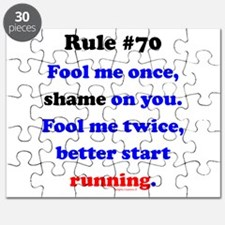 Rule 70 - Better Start Running Puzzle