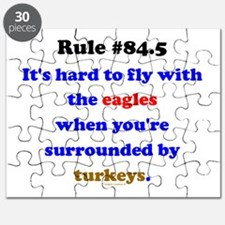 Rule 84.5 Surrounded by Turkeys Puzzle