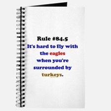 Rule 84.5 Surrounded by Turkeys Journal