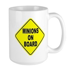 Minions on Board Car Sign Mug