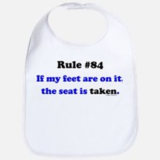 Rule 84- Seat Taken Bib