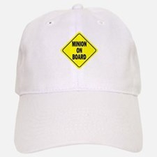 Minion on Board Car Sign Baseball Cap
