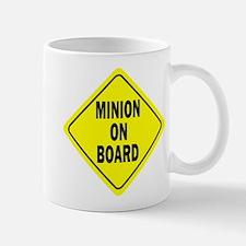 Minion on Board Car Sign Mug