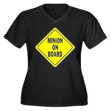 Minion on Board Car Sign Plus Size T-Shirt