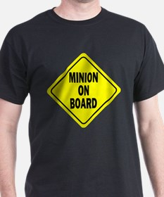 Minion on Board Car Sign T-Shirt