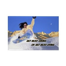 SnowBoarder Magnet w/ Inspire Cliche
