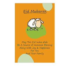 Eid mubarak Postcards (Package of 8)