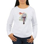 New Year Wishes Women's Long Sleeve T-Shirt