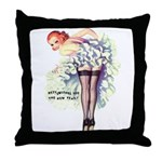New Year Wishes Throw Pillow