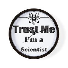 Trust Me Im a Scientist Wall Clock