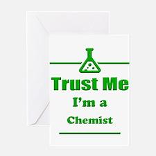Trust Me Im a Chemist Greeting Card