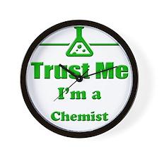 Trust Me Im a Chemist Wall Clock