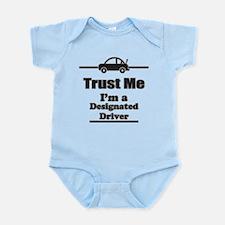 Trust Me Im a Designated Driver Body Suit
