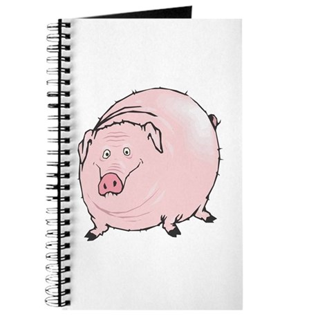 Silly Pot Belly Pig Journal