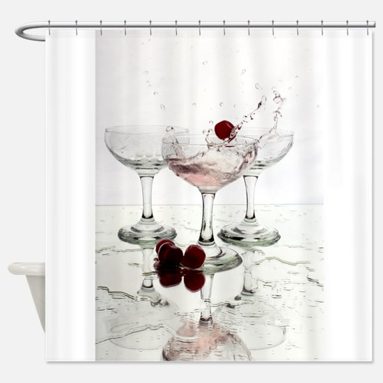 Cocktails Shower Curtain
