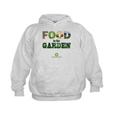 FOOD in the Garden Kids Hoodie
