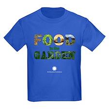 FOOD in the Garden Kids Dark T-Shirt