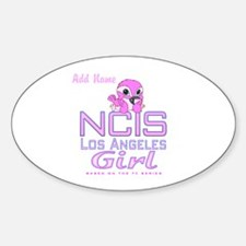 Personalized NCISLA Girl Decal