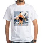 Life Guard White T-Shirt