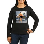 Life Guard Women's Long Sleeve Dark T-Shirt