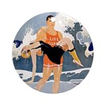 Life Guard Ornament (Round)