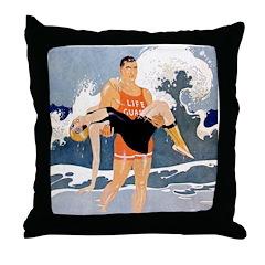 Life Guard Throw Pillow