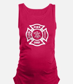 Fire Chief Maternity Tank Top