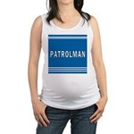 patrolman blues mousepad.jpg Maternity Tank Top