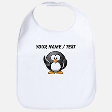 Custom Waving Penguin Bib