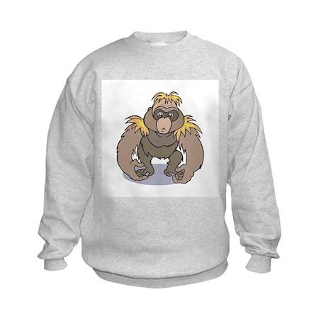 Silly Orangutang/Orangutan Kids Sweatshirt