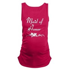 Classic Maid of Honor Maternity Tank Top