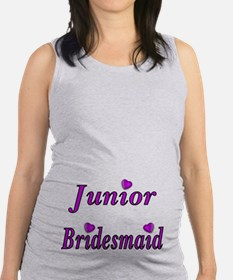 Junior Bridesmaid Simply Love Maternity Tank Top