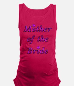 Mother of the Bride Love Maternity Tank Top