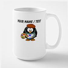 Custom Painter Penguin Mug