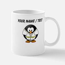 Custom Karate Penguin Small Mug