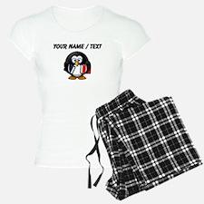 Custom Book Worm Penguin pajamas